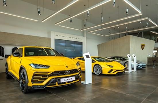Redeschiderea showroomului Lamborghini București marchează lansarea locală a noului Lamborghini Huracán EVO