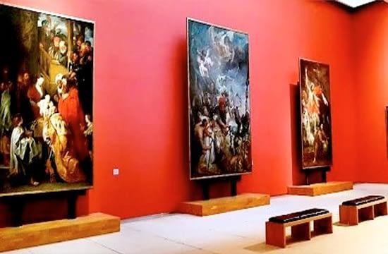 La Muzeul Regal de Artă din Belgia arta este adusă în sufragerii cu ajutorul 'tablourilor digitale'