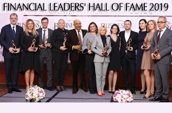 FINANCIAL LEADERS' HALL OF FAME 2019