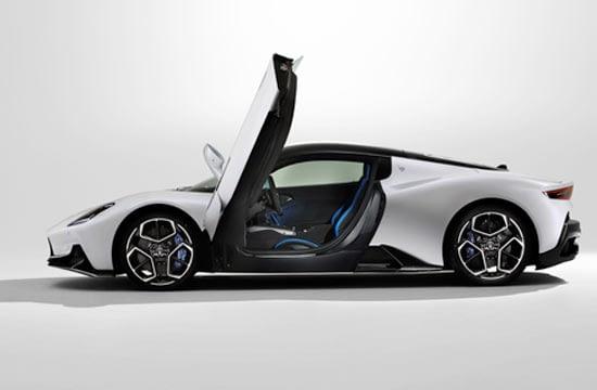 O noua eră Maserati – MC20, O sculptură dinamică cu un ADN de curse