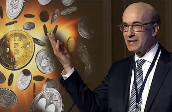 Profesorul de la Harvard, Kenneth Rogoff, avertizează că băncile centrale nu vor permite niciodată Bitcoin să intre în mainstream