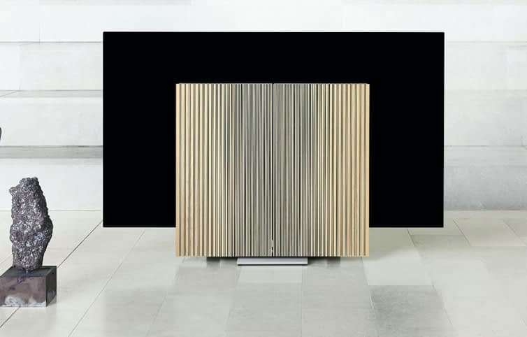 Bang & Olufsen's huge 4K OLED Beovision Harmony UNFOLDS and it has to be seen to be believed