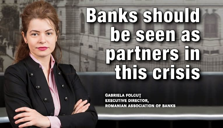 Banks should be seen as partners in this crisis